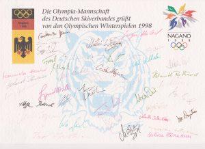 Olympia Mannschaft Deutscher Skiverband AKZ Osterried